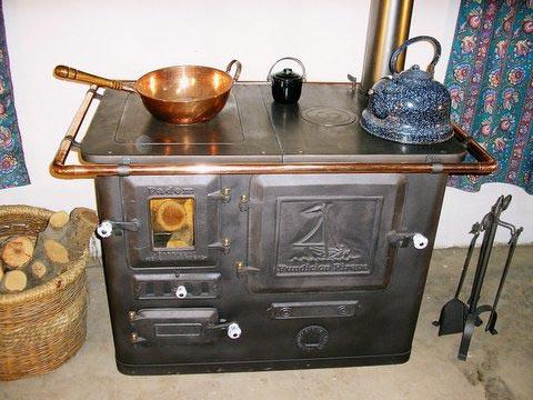 Fundici n pirque cocinas a le a for Cocinas de hierro antiguas